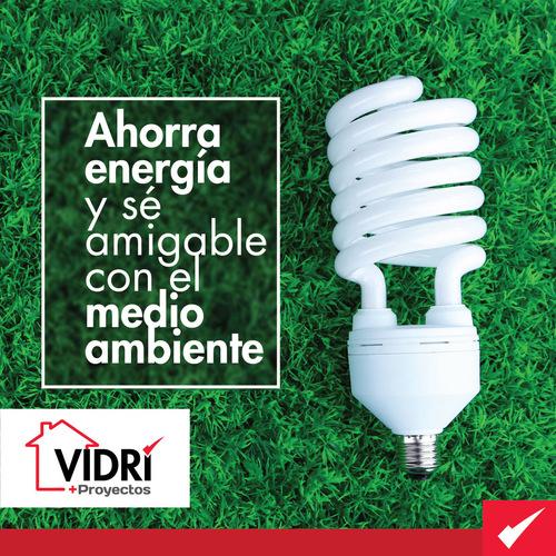 Ahorra energía y sé amigable con el medio ambiente