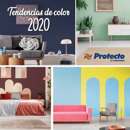 INSPÍRATE CON LAS CUATRO TENDENCIAS DE COLORES PARA EL 2020