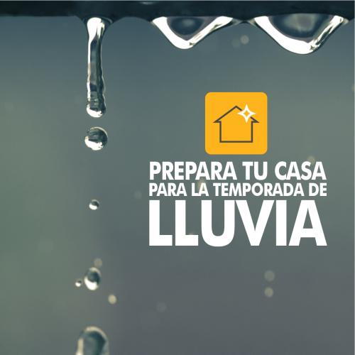 CONSEJOS PARA PREPARAR TU CASA PARA LA TEMPORADA DE LLUVIA