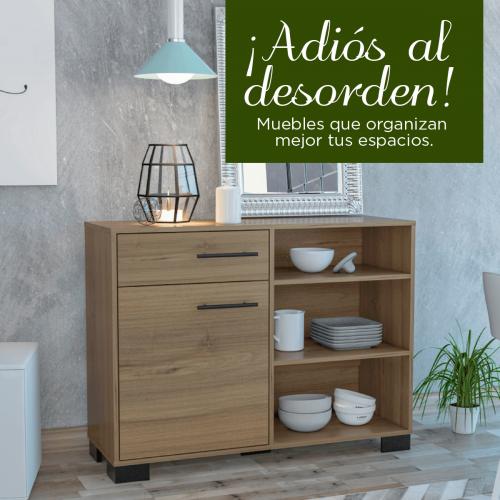 ¡ADIÓS AL DESORDEN! Muebles que organizan mejor tus espacios.