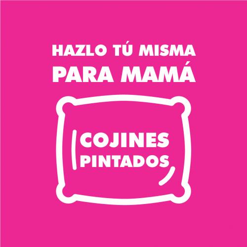 COJINES PINTADOS PARA MAMÁ