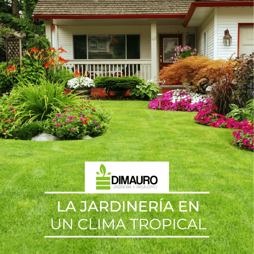LA JARDINERÍA EN CLIMA TROPICAL