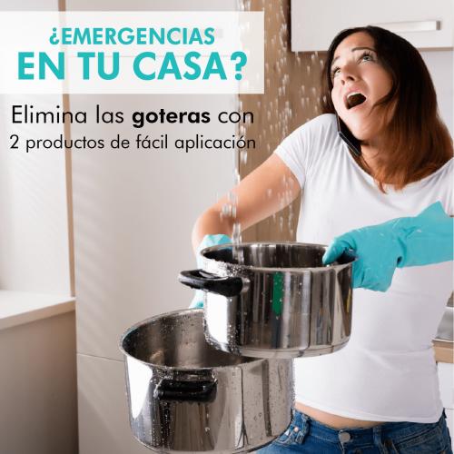 ¿Emergencias en tu casa?