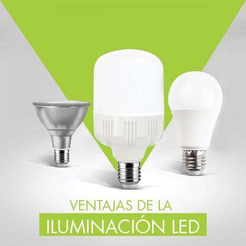 7 VENTAJAS DE LA ILUMINACIÓN LED