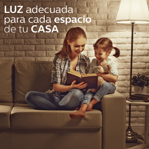 Luz adecuada para cada espacio de tu casa